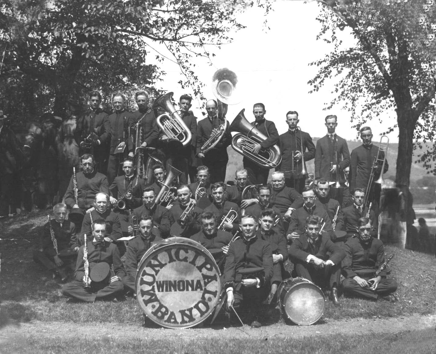 Municipal Band Vintage photo