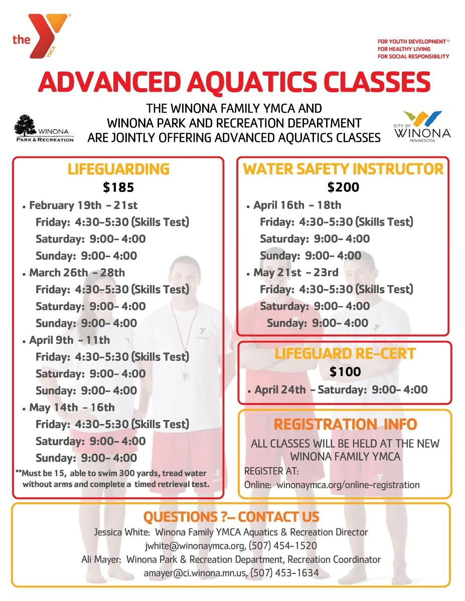 Advanced Aquatic Classes